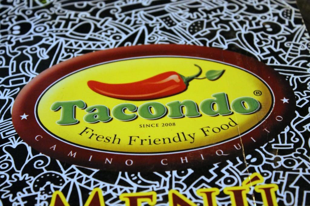 Tacondo - Logo-menu