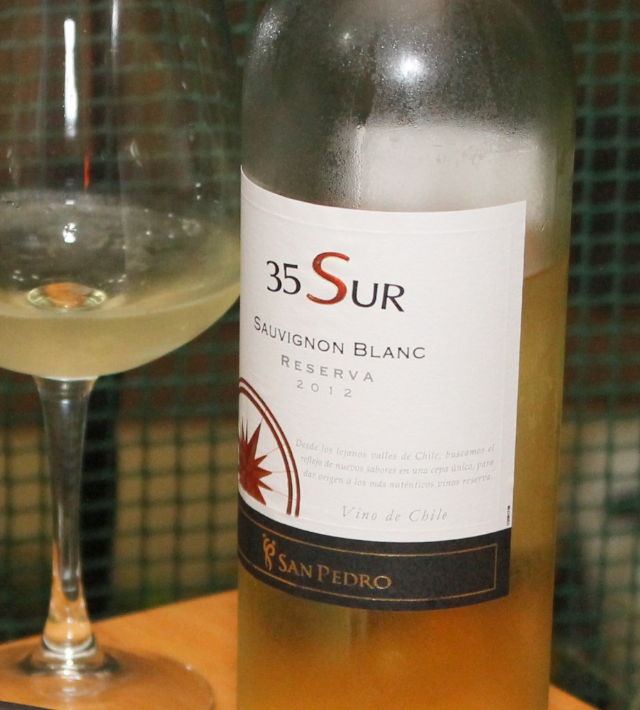 35 Sur Sauvignon Blanc 2012 Reserva