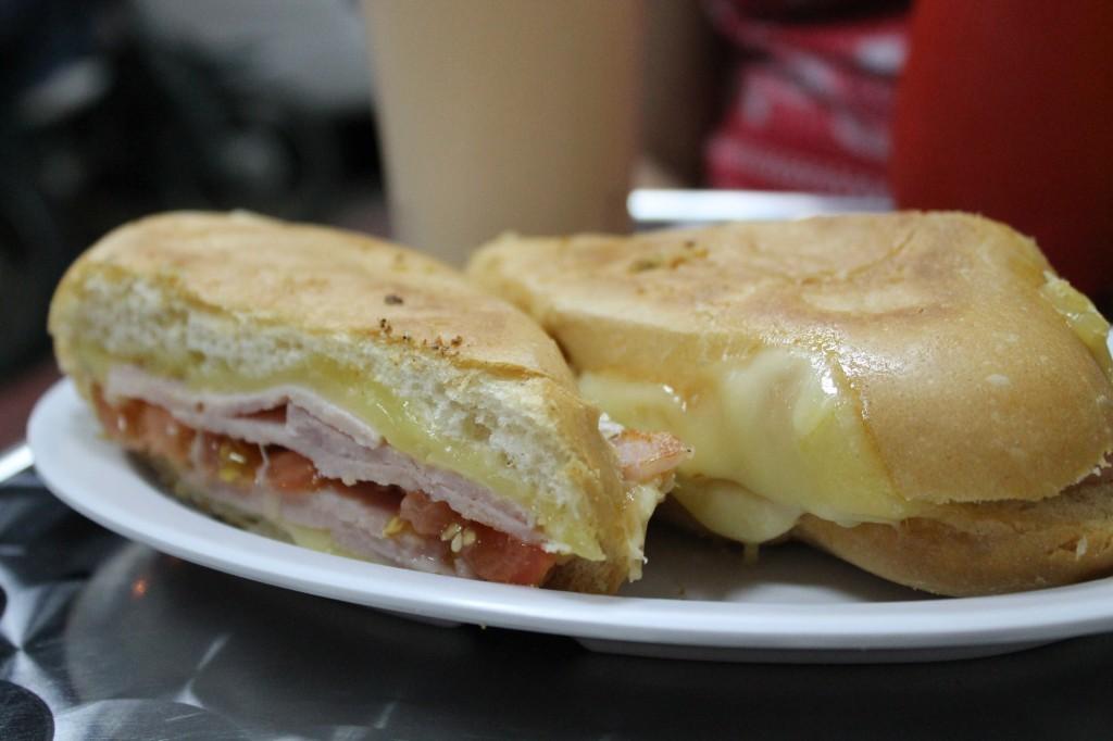 Palacio del Sandwich - Jamon y queso danés