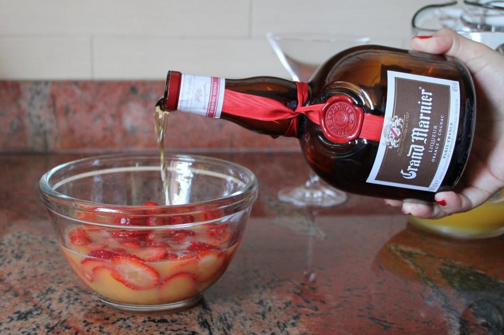 Fresas con crema - Grand Marnier
