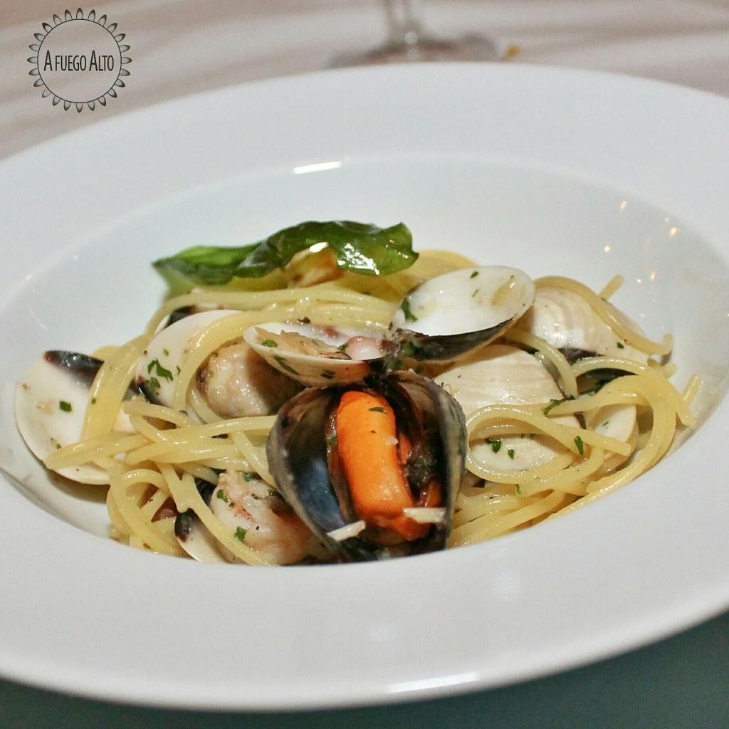 Spaghetti frutti de mare