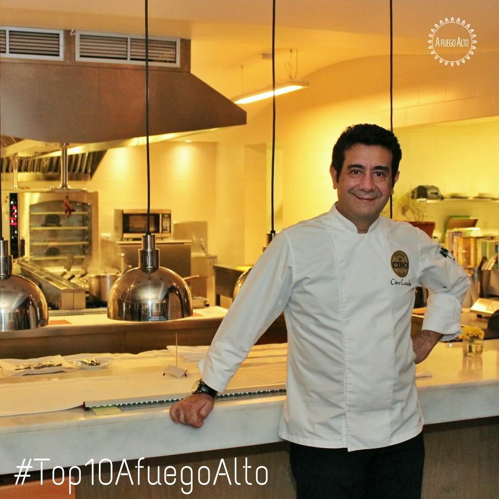 Ciro Cassola propietario de Osteria da Ciro (Los 10 mejores restaurantes del 2014)