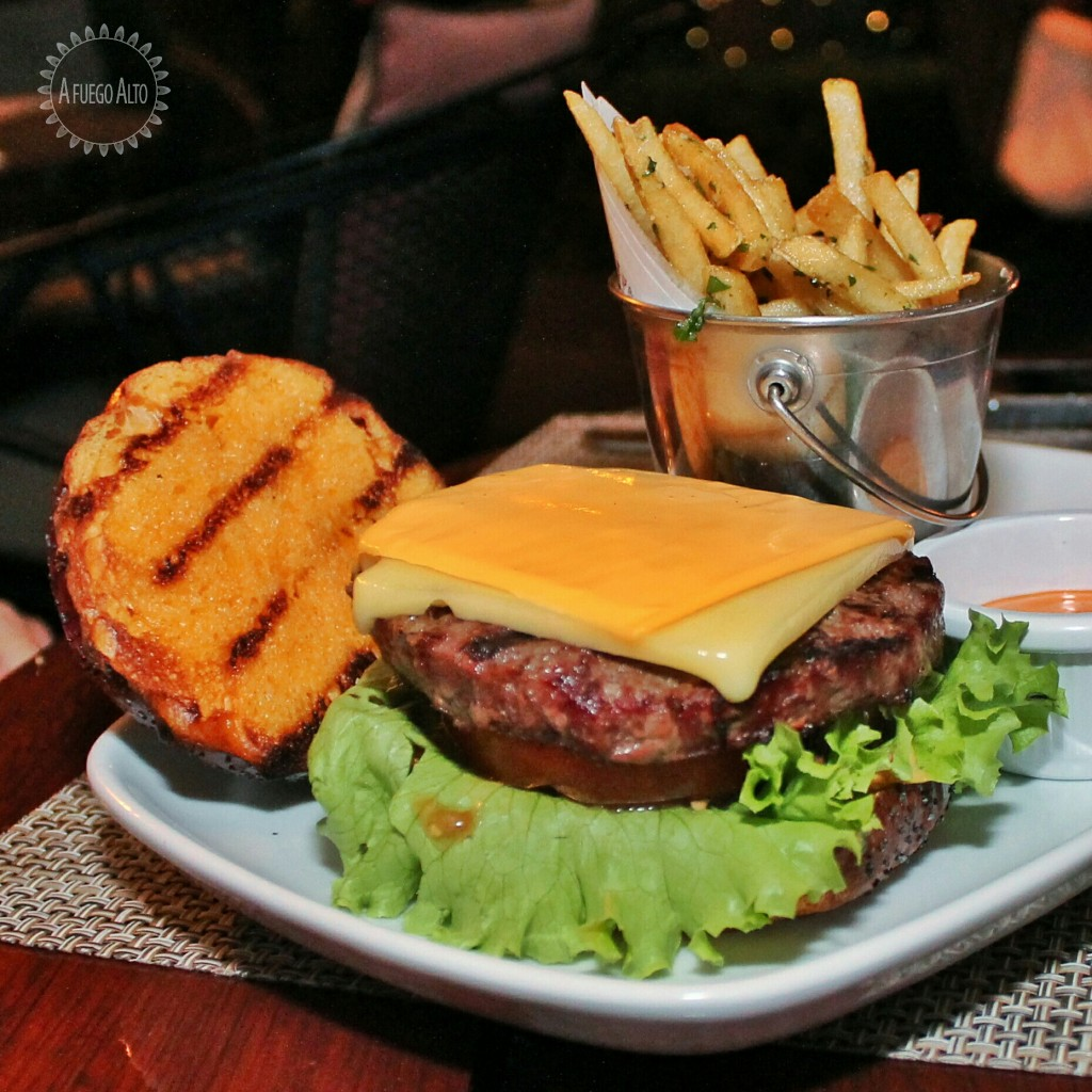 Ketchup burger