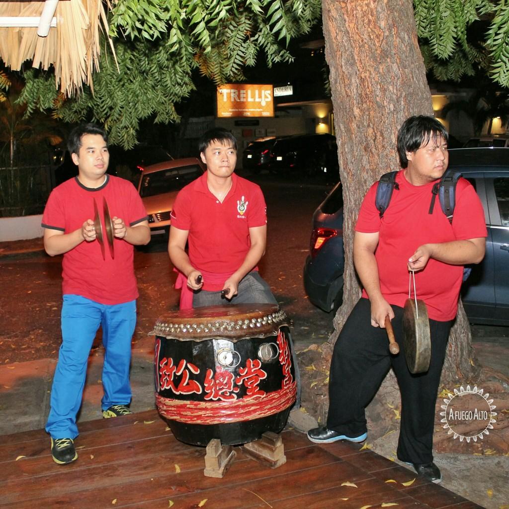 Músicos chinos
