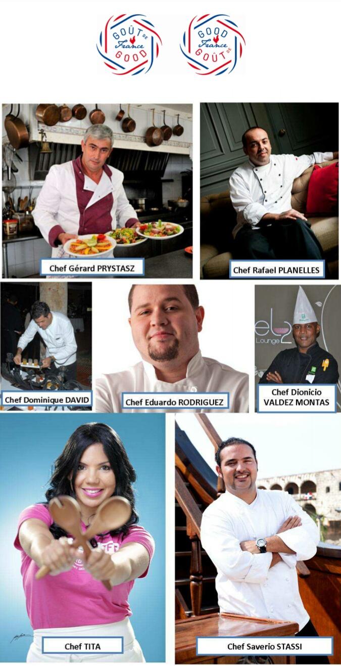 Evento simultáneo de cocina francesa en los 5 continentes