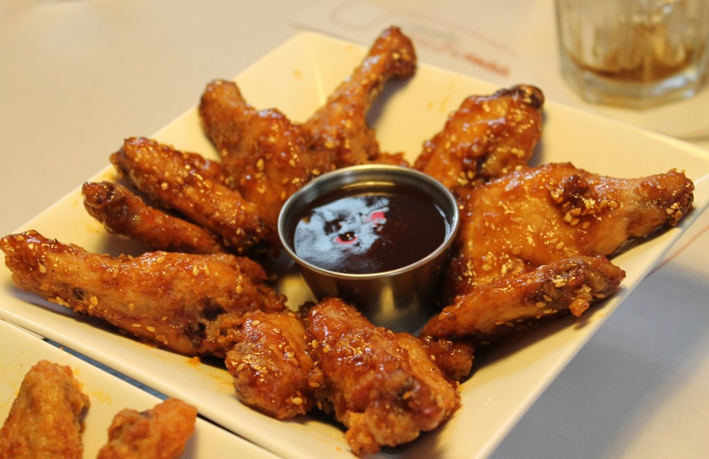 Sesame Honey BBQ wings - Chef Pepper
