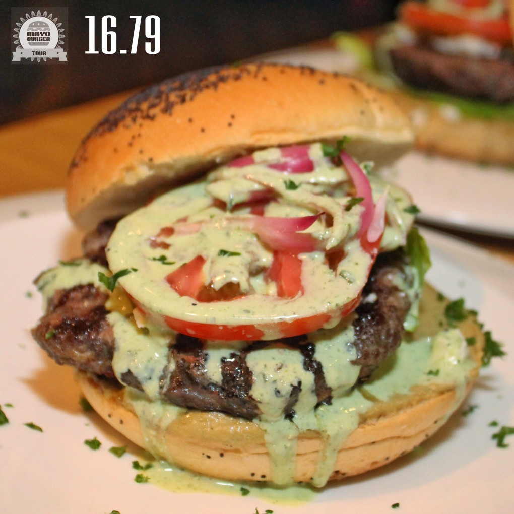 The Most Wanted Lamb Burger - Alfresco (Las 10 mejores hamburguesas del Mayo Burger Tour 2015)