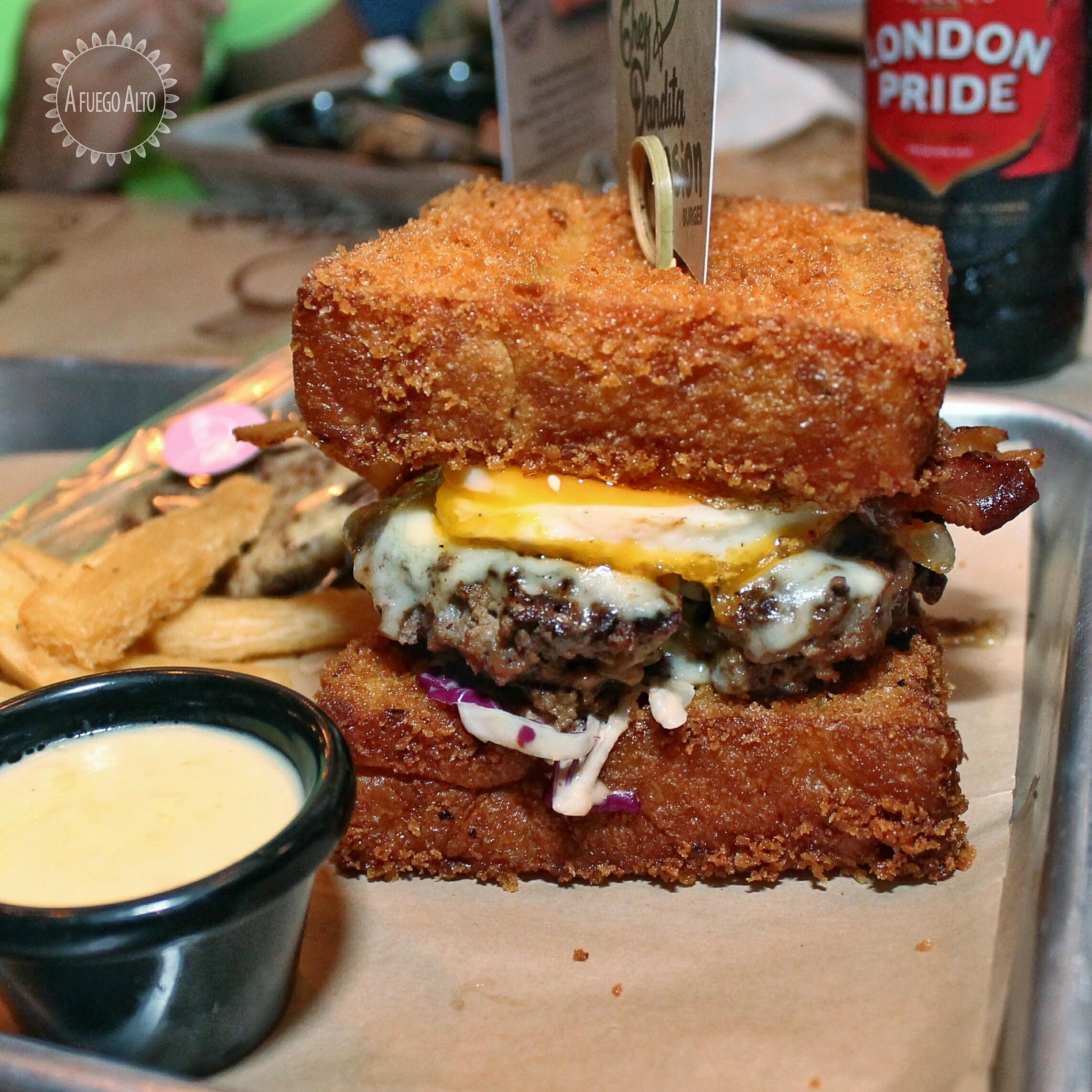 Chef Pandita Invasion Burger (Mustard's)