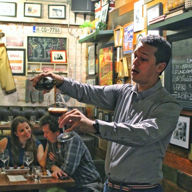 Pablo Faña (Cena Maridaje con cervezas en Max Fifty)