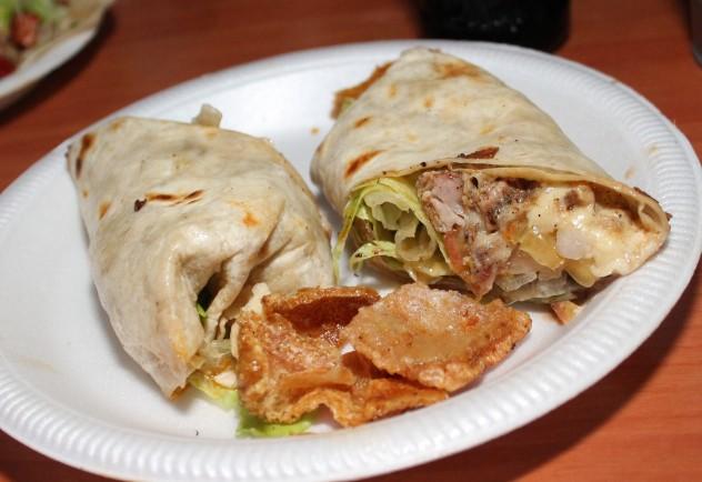 La Chalupa - Burrito de porcheta