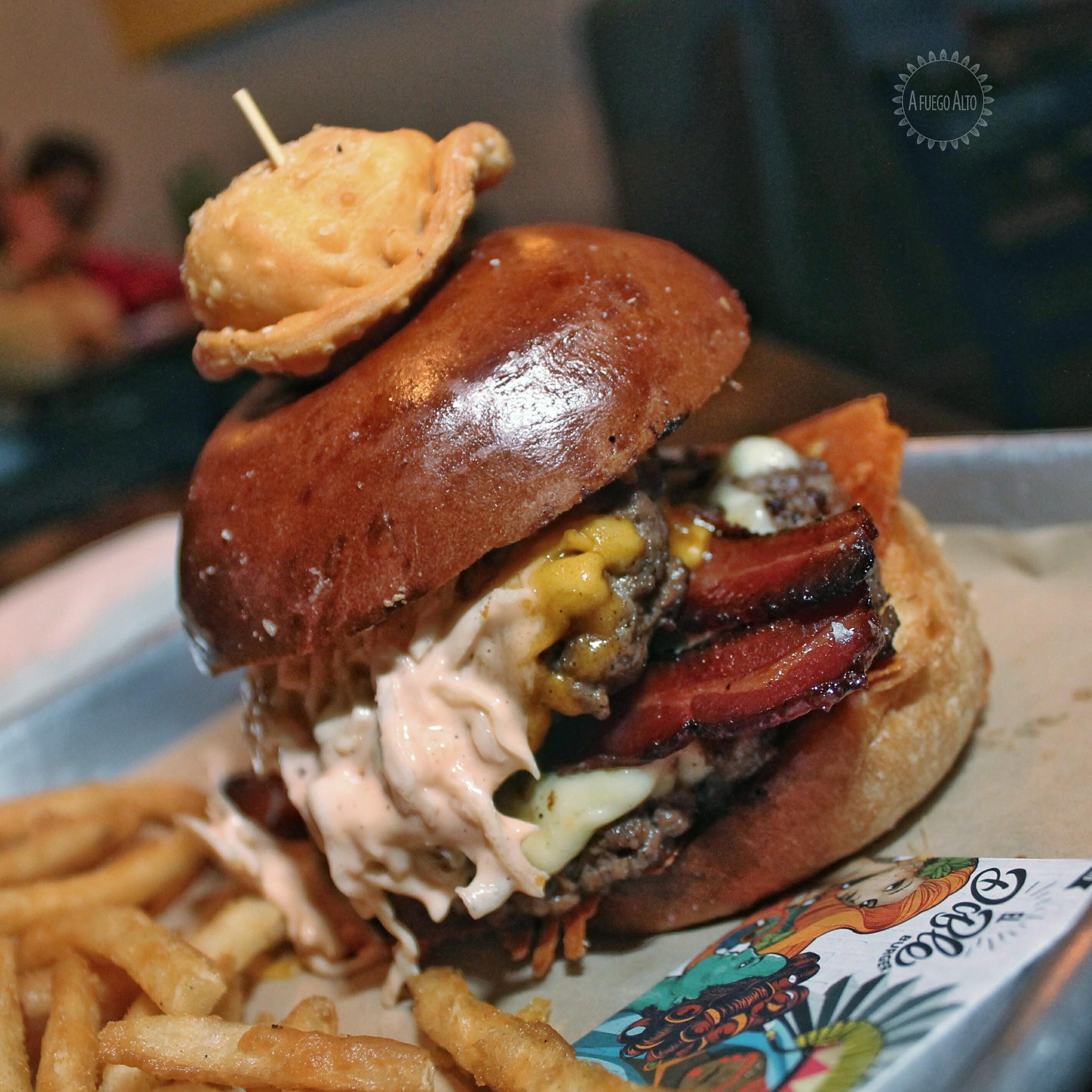 El Doble Burger (Mustard's)