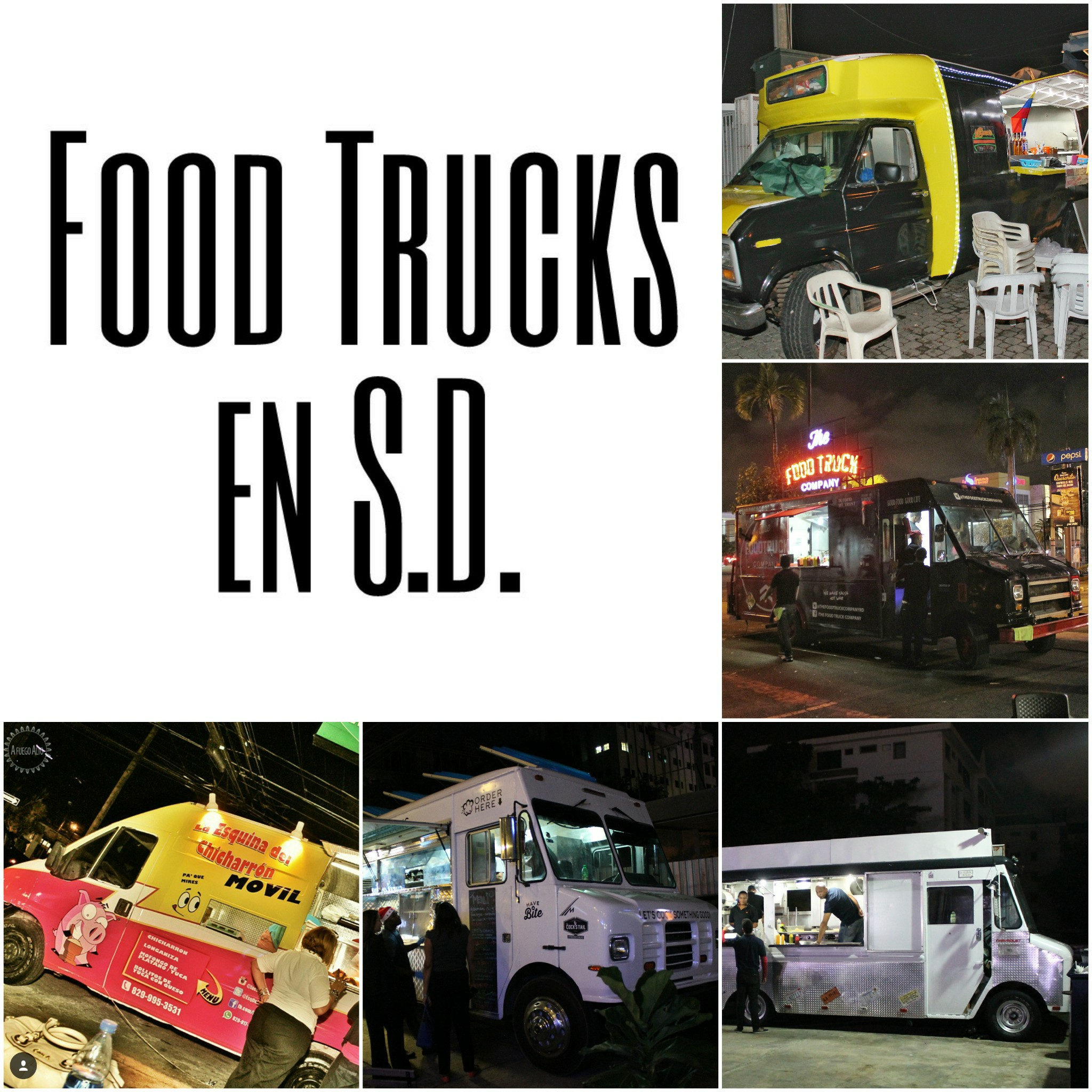 Los Food Trucks ruedan en Santo Domingo