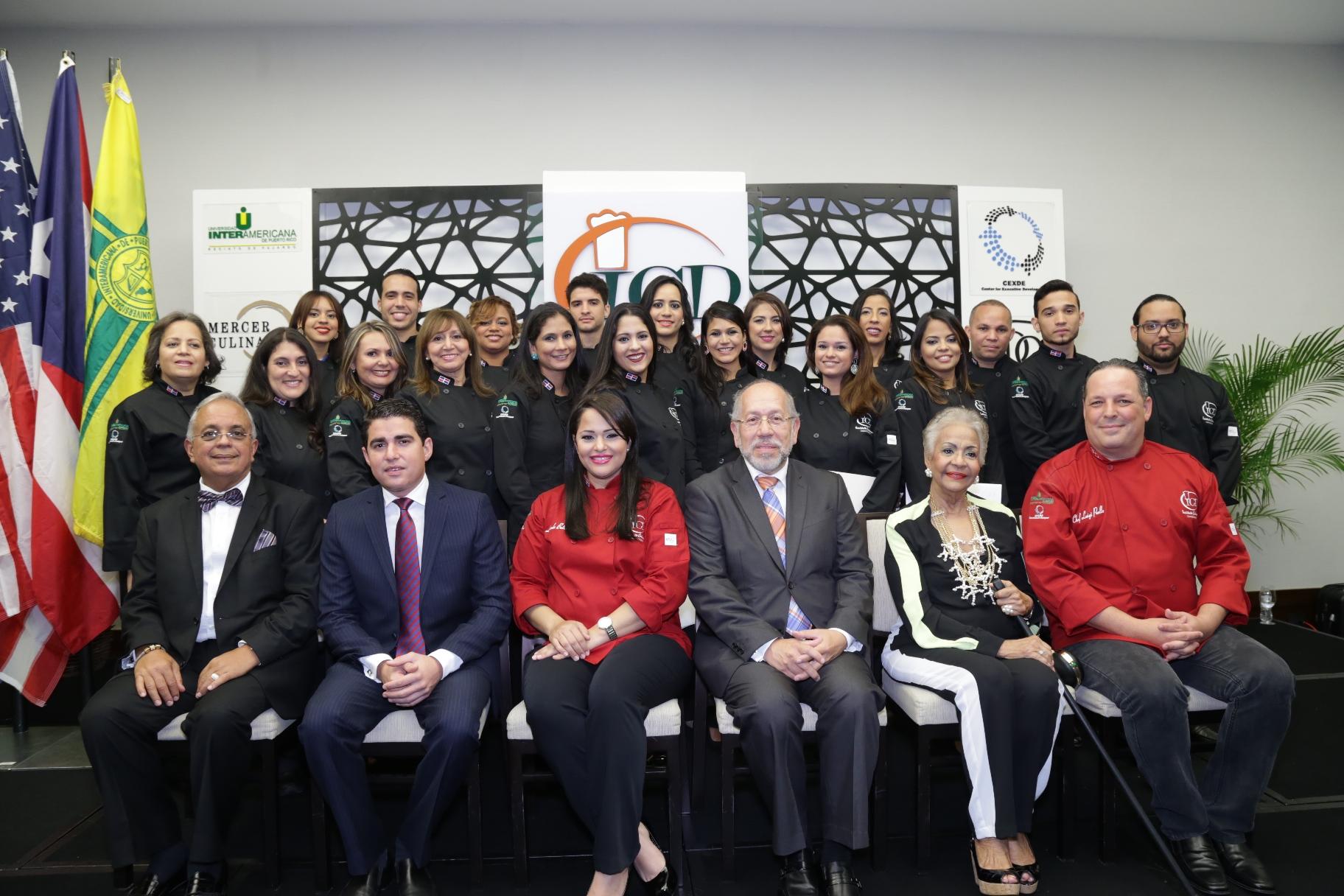 Instituto Culinario Dominicano celebra graduación.