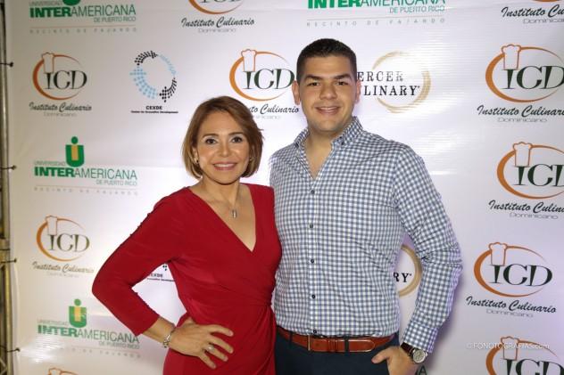 Jacqueline Henriquez y Francisco Gómez