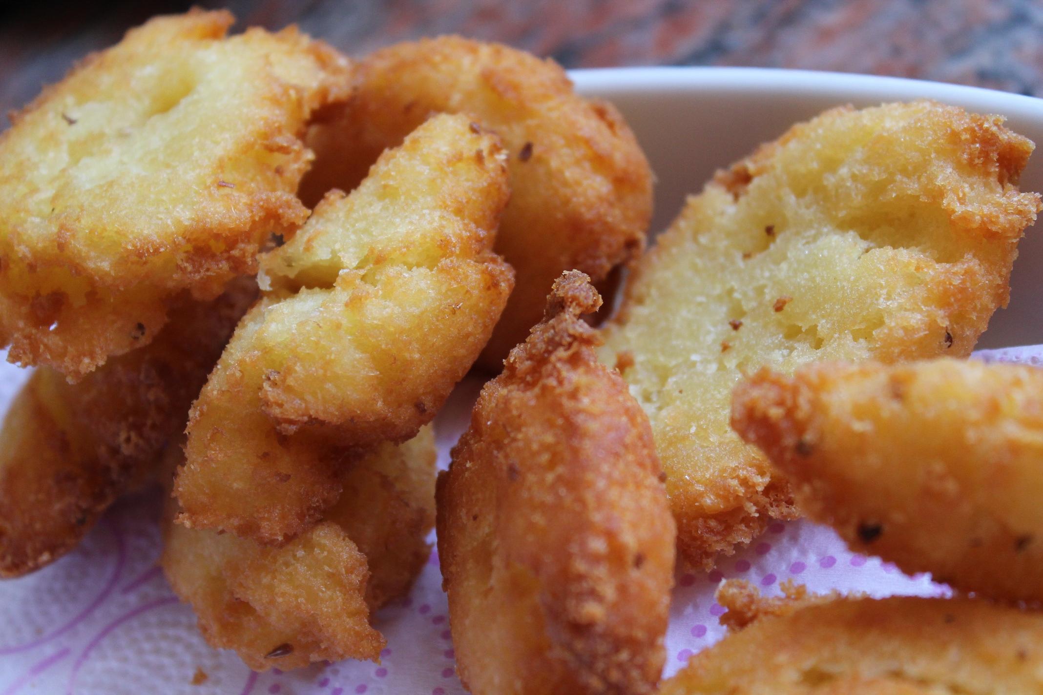 La fritura en el almuerzo del dominicano