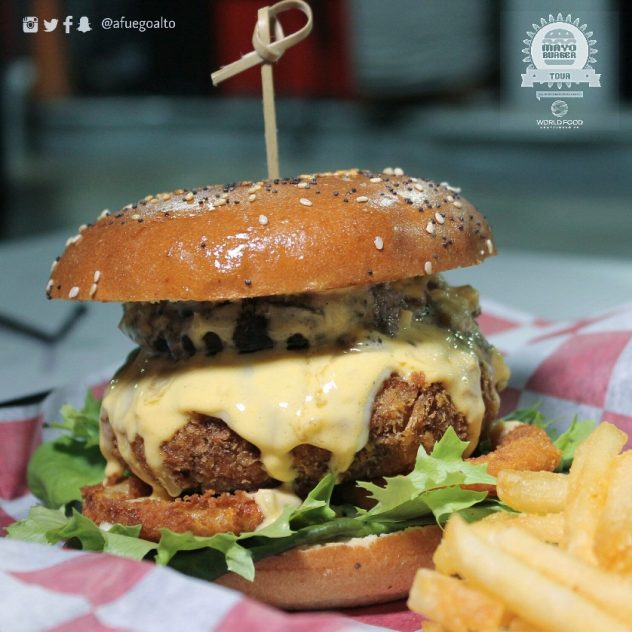 Crunchy Burger - Squina
