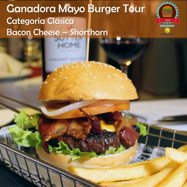 Bacon Cheese - Shorthorn (Ganadora Clasica)