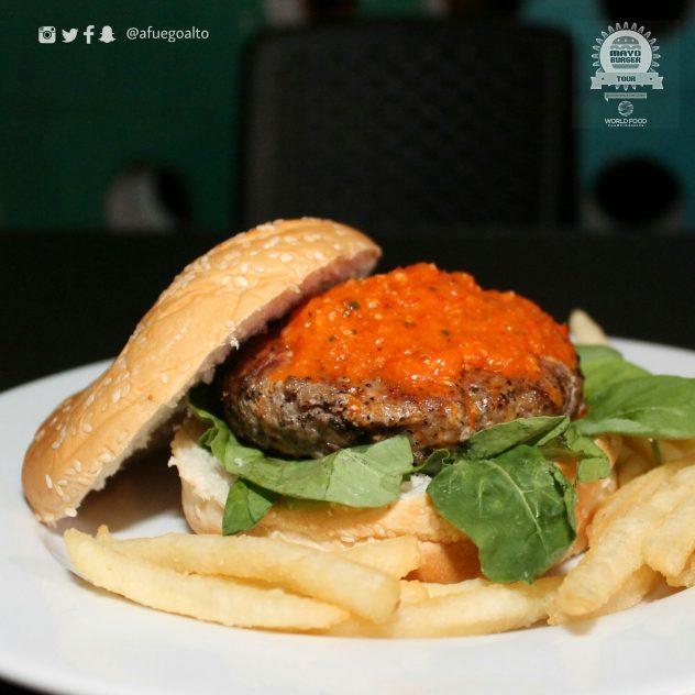 Choriburger - Salt & Pepper