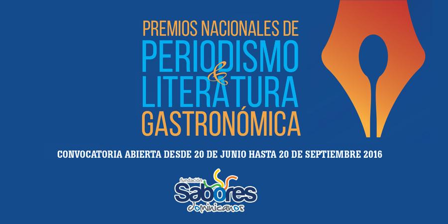 Primeros premios a la literatura y al periodismo gastronómico