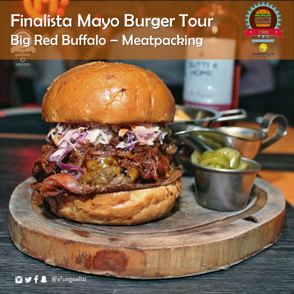1 -Big Red Buffalo - Meat Packing (Finalista) (Mayo Burger Tour)