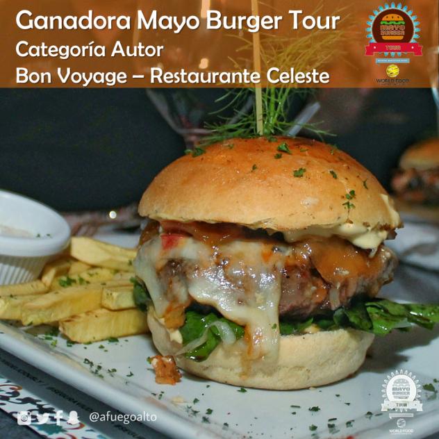 Bon Voyage - Celeste (Ganadora Categoria Autor) (Mayo Burger Tour)