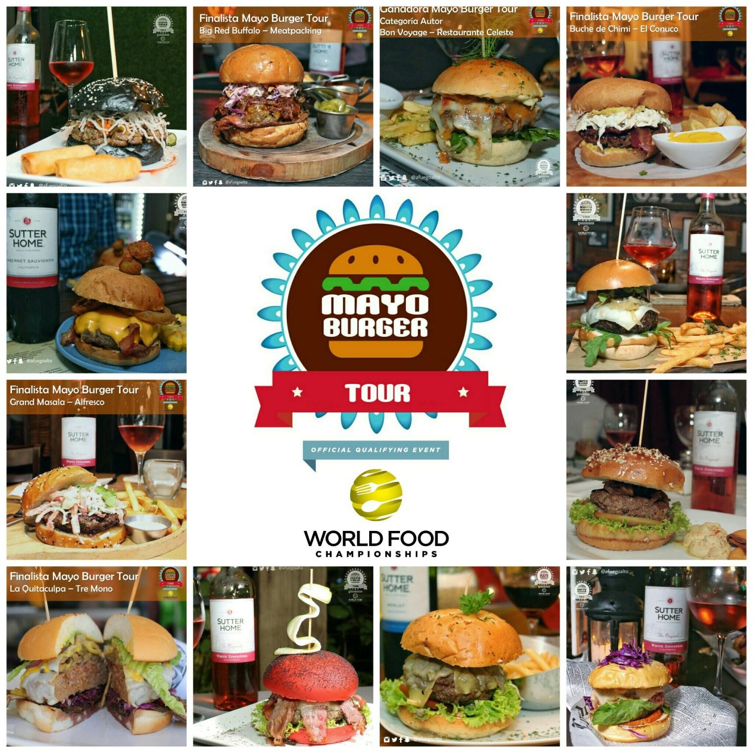 Las 12 mejores hamburguesas del Mayo Burger Tour 2016
