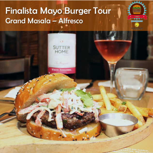 Grand Masala - Alfresco (Finalista) (Mayo Burger Tour)