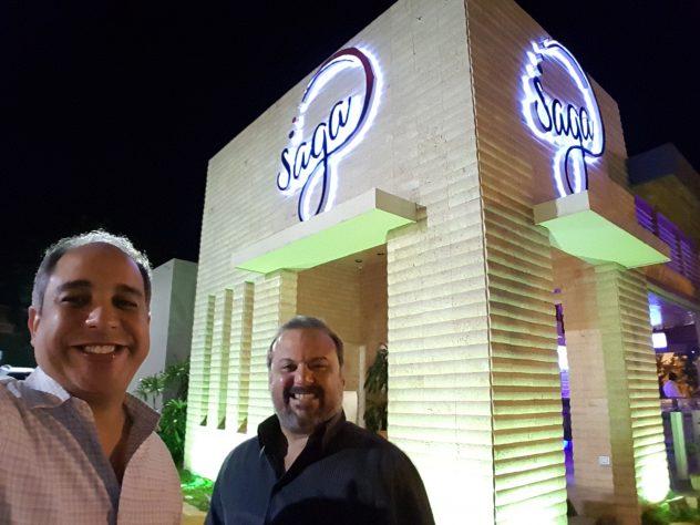 Miguel y Leandro en Saga - SaboreAndo mi país