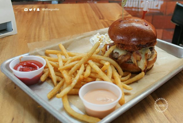 Maeno Sequel Burger (Burger Battle)