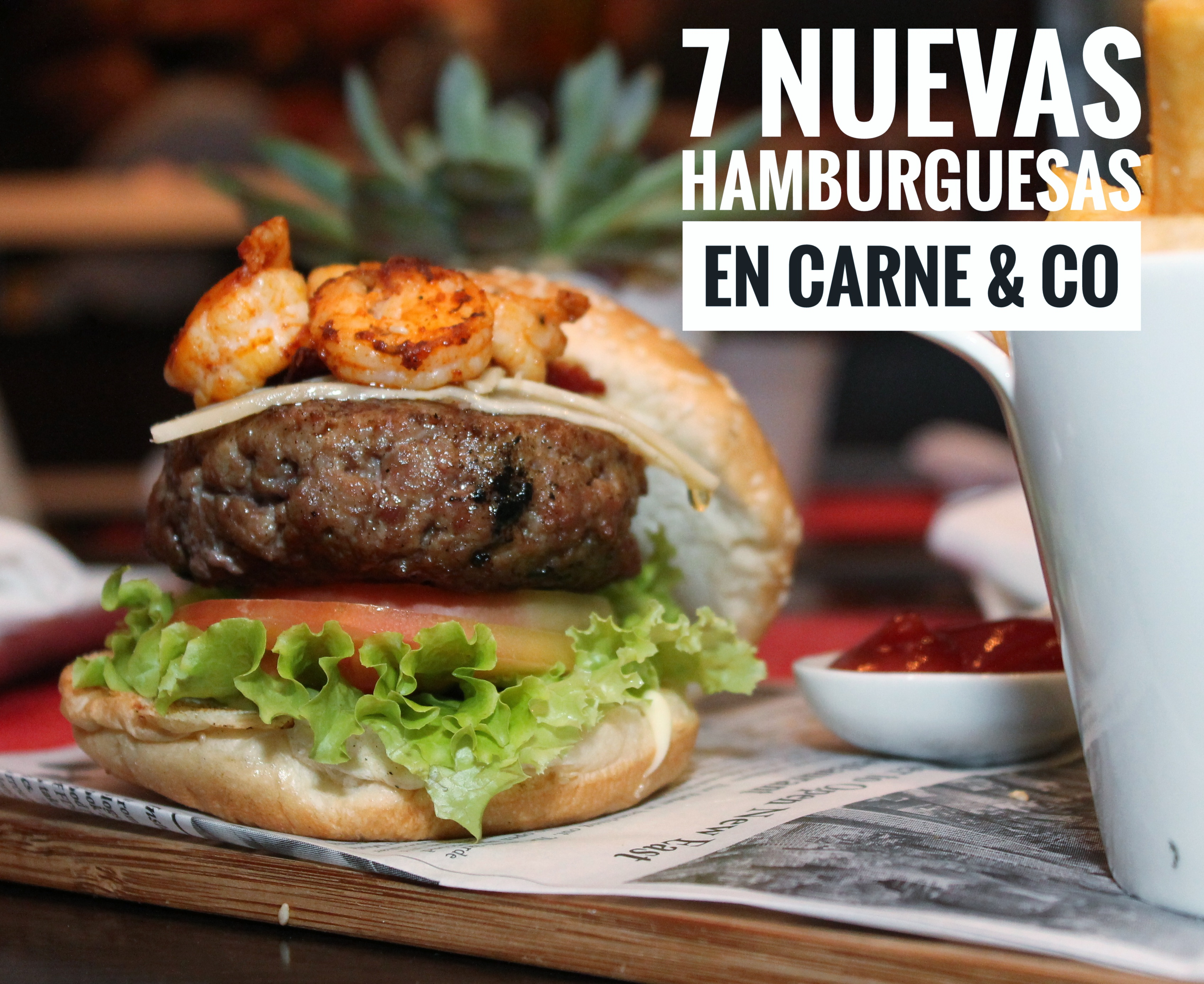 Burger Nights: nueva propuesta hamburguesera de Carne & Co