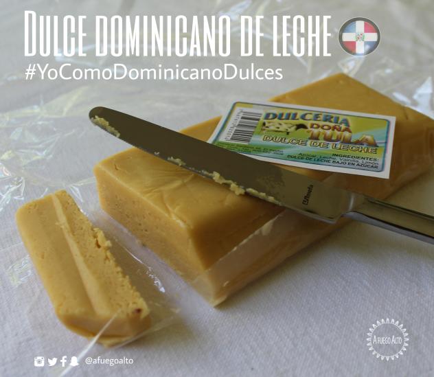 Dulce de leche dominicano - Dulces criollos
