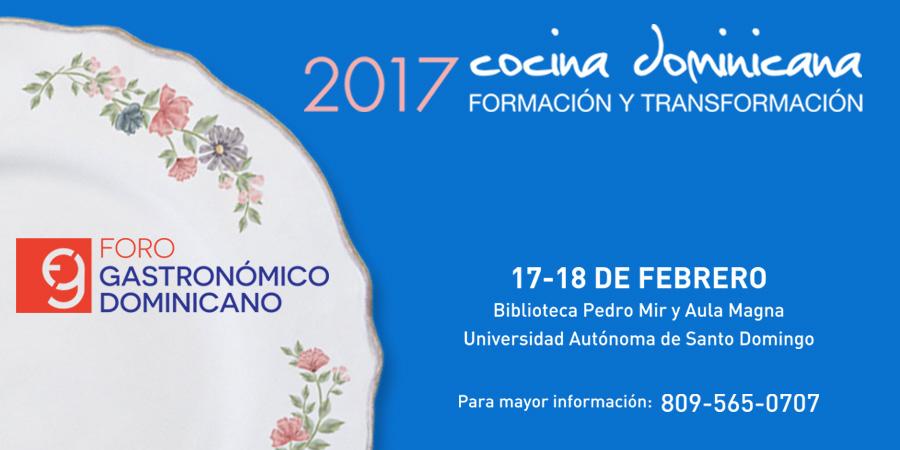 María Marte participará en el 3er. Foro Gastronómico Dominicano