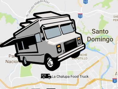 Mapa de Food Trucks en la ciudad de Santo Domingo