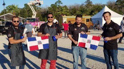 Participación de R.D. en el World Food Championships 2017