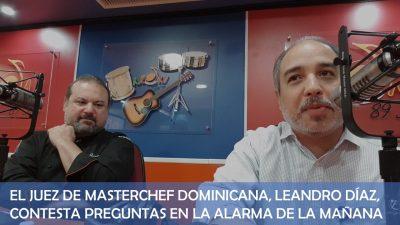 (Exclusiva) Entrevista al juez de Masterchef dominicana, el chef Leandro Díaz
