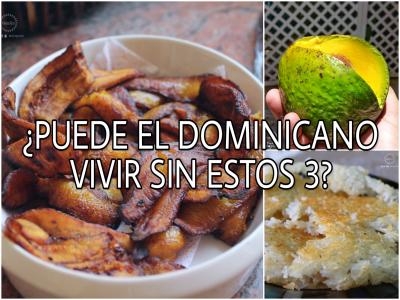 ¿Puede el dominicano vivir sin estos 3?