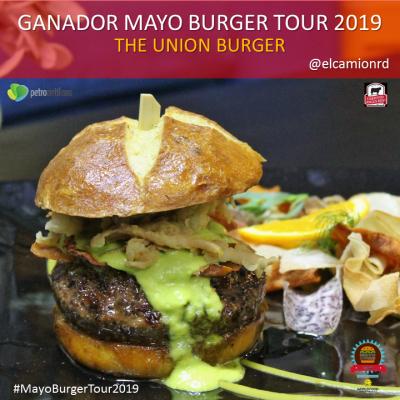 THE UNION: hamburguesa ganadora Mayo Burger Tour 2019