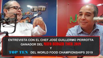 Entrevista con José Perrotta: TOP TEN del WFC 2019