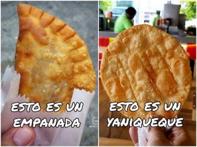 Diferencia entre Empanada y Yaniqueque