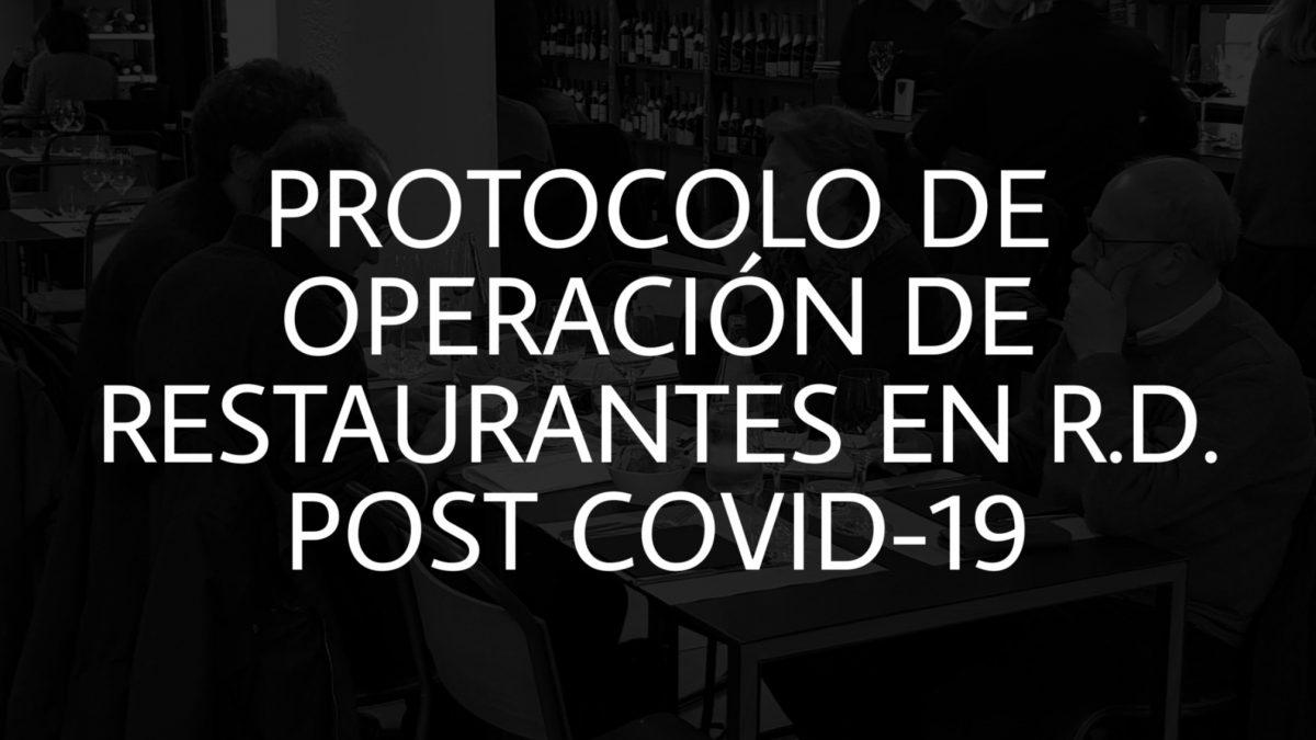 Protocolo Restaurantes en R.D.
