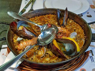 Examen de gastronomía española