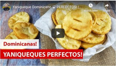 La video receta de la semana: YANIQUEQUES