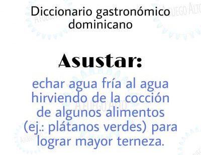 Diccionario gastronómico dominicano