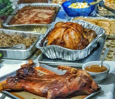 Examen de gastronomía navideña dominicana