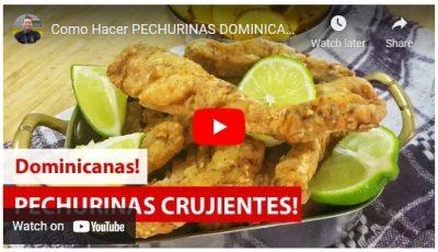 Video receta: cómo hacer Pechurinas crujientes