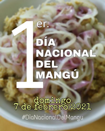Primer Día Nacional del Mangú en R.D.