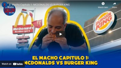 «EL MACHÓ» en el canal de YouTube de El Golpe de Jochy