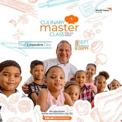 Leandro Díaz y World Vision harán master class para niños en zonas vulnerables